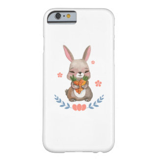 Colorful Bunny Easter Men Womens Kids Gift Barely There iPhone 6 Case