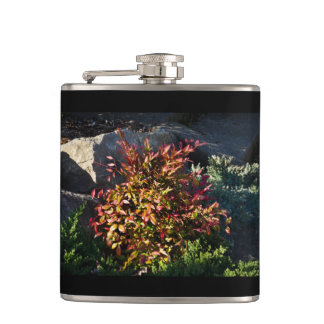 Colorful Bush Drinking Flask