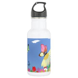 Colorful Butterflies 532 Ml Water Bottle