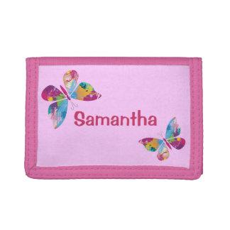 Colorful Butterflies Design Wallet