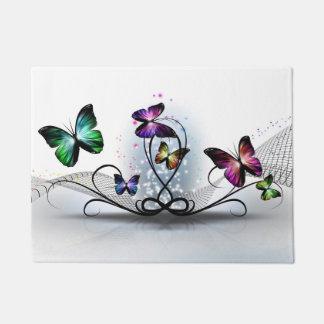 Colorful Butterflies Doormat