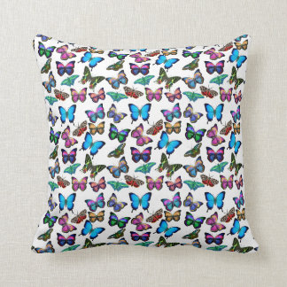 Colorful Butterflies Galore Pillow