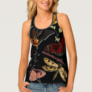 Colorful Butterflies with Christian Scripture Tank Top