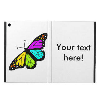 Colorful butterfly clipart case for iPad air
