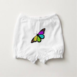Colorful butterfly clipart diaper cover