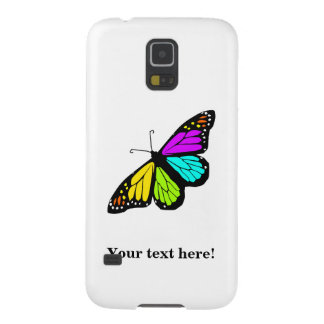 Colorful butterfly clipart galaxy s5 case