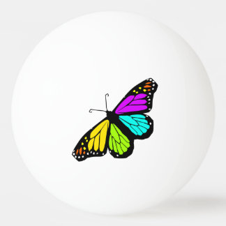 Colorful butterfly clipart ping pong ball