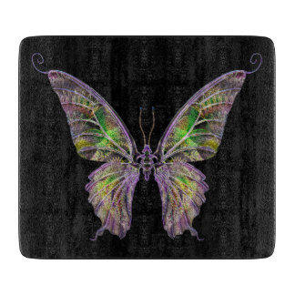 Colorful Butterfly Cutting Board