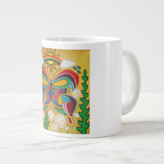 Colorful Butterfly Large Coffee Mug