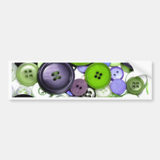 Colorful Buttons Bumper Sticker
