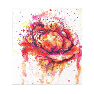 Colorful Cabbage Watercolor2 Notepad