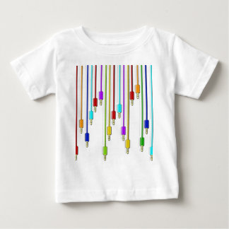 Colorful cables baby T-Shirt