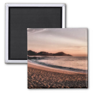 Colorful Cabo Sunset Square Magnet