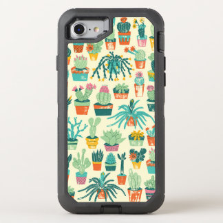 Colorful Cactus Flower Pattern Apple iPhone 7 Case