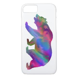 Colorful California Bear case