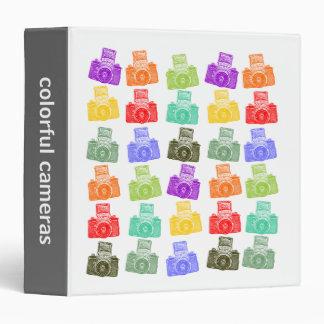 Colorful Cameras (1.5in) Binder