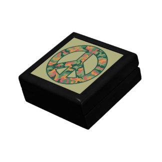 Colorful Camo Peace Gift Box