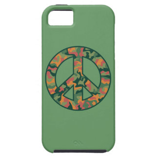 Colorful Camo Peace iPhone 5 Case