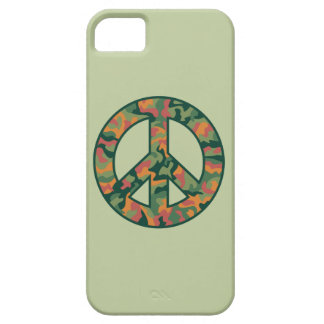 Colorful Camo Peace iPhone 5 Cover