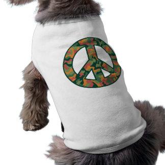 Colorful Camo Peace Shirt