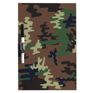 Colorful Camouflage seamless pattern Dry Erase Board