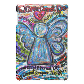 Colorful Cancer Angel iPad Case