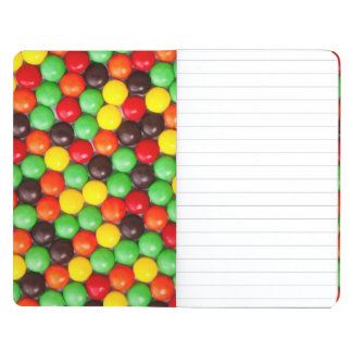 Colorful candies journal