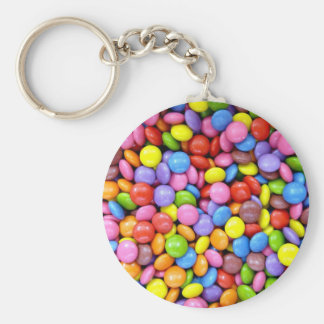 Colorful candies keychain