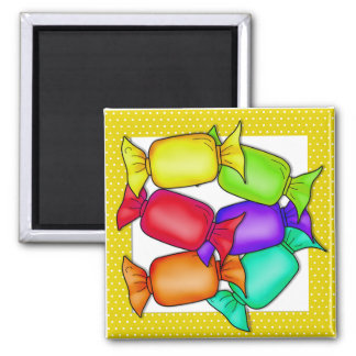 Colorful Candies Magnet