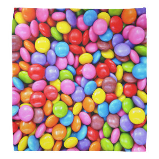 Colorful Candies Personalize Photo Bandannas