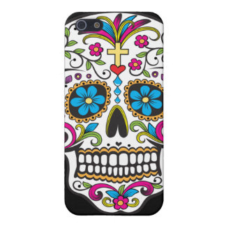 Colorful Candy and Sugar Skull iPhone 5 Cover