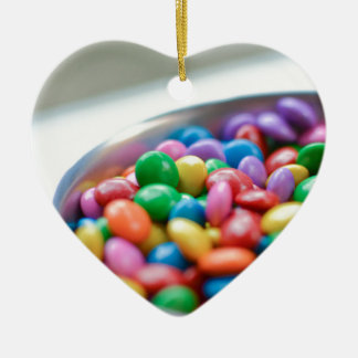 colorful candy ceramic ornament