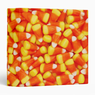 "Colorful Candy Corn 1.5"" Photo Album 3 Ring Binders"