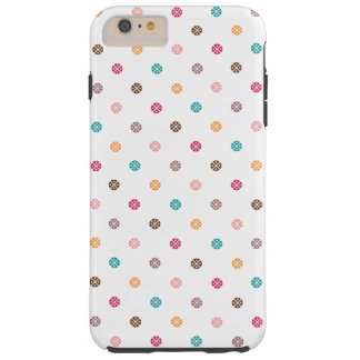 Colorful Candy Dots design Tough iPhone 6 Plus Case