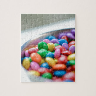 colorful candy jigsaw puzzle