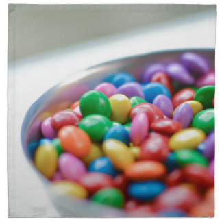 colorful candy napkin