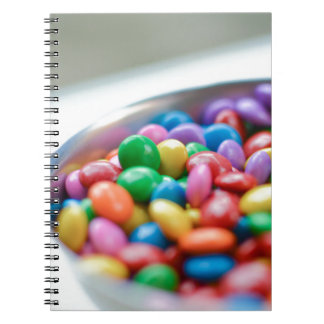 colorful candy notebooks