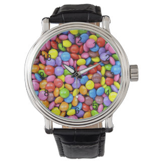 Colorful Candy Pieces Wristwatch
