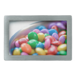 colorful candy rectangular belt buckles