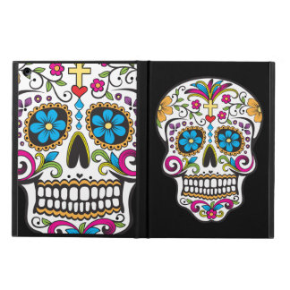 Colorful Candy Skull iPad Air Case