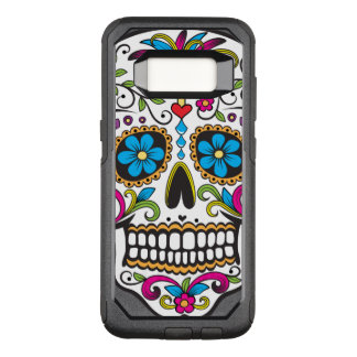 Colorful Candy Skull OtterBox Commuter Samsung Galaxy S8 Case