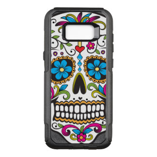 Colorful Candy Skull OtterBox Commuter Samsung Galaxy S8+ Case