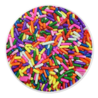Colorful Candy Sprinkles Ceramic Knob