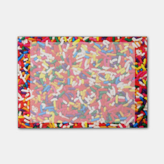 Colorful Candy Sprinkles Post-it Notes