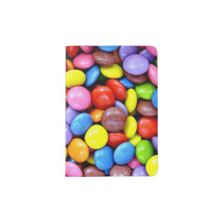 Colorful Candy Treats Passport Holder