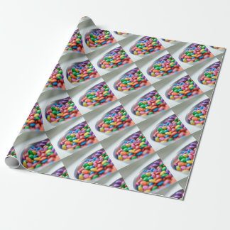 colorful candy wrapping paper