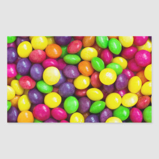 Colorful candy's background sticker