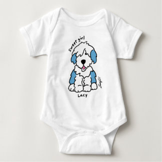 Colorful Canine PUPS Baby Bodysuit