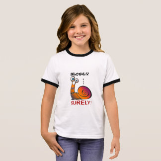 Colorful Caracol Ringer T-Shirt