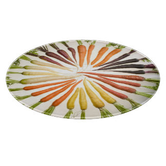 Colorful Carrots Cutting Board